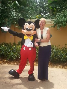 Karen and her pal, Mickey
